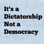 My Democracy, My Dictatorship